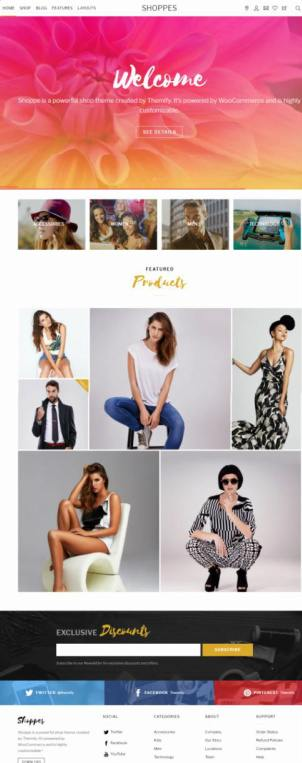 Shoppe Themify : Best WooCommerce Theme For WordPress