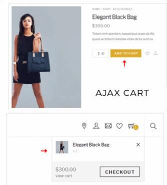 Ajax Cart - Shoppe Theme