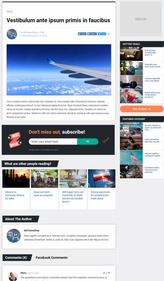 Single Blog Post Preview - Dividend Magazine Theme