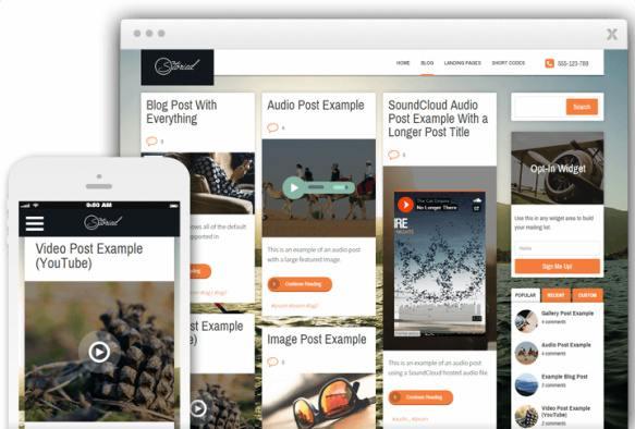 Storied WordPress Blogging Theme : Thrive Themes
