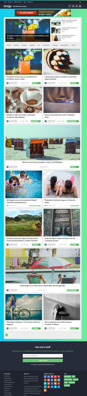 Bridge Demo - Premium Magazine News Theme by MyThemeShop