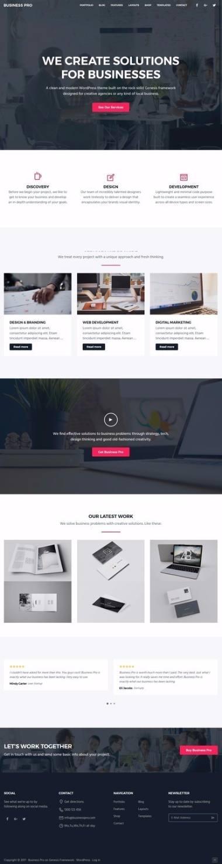 StudioPress Business Pro : Genesis Business Theme by SEO Themes