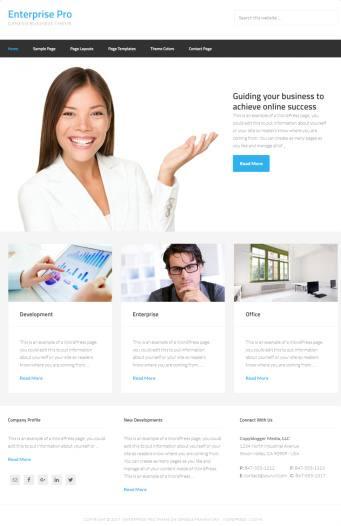Genesis Enterprise Pro : StudioPress Best Business WordPress Theme
