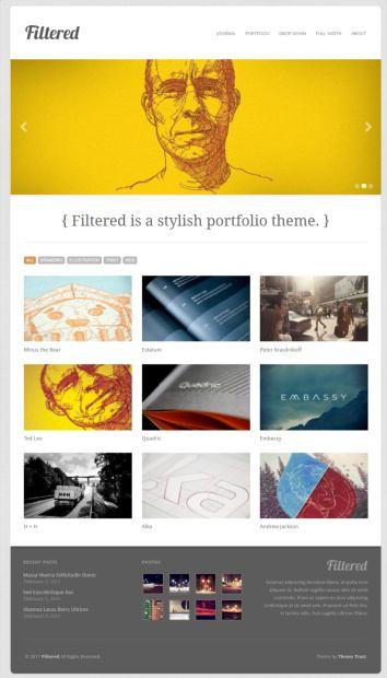 Filtered Demo : Portfolio WordPress Theme – ThemeTrust