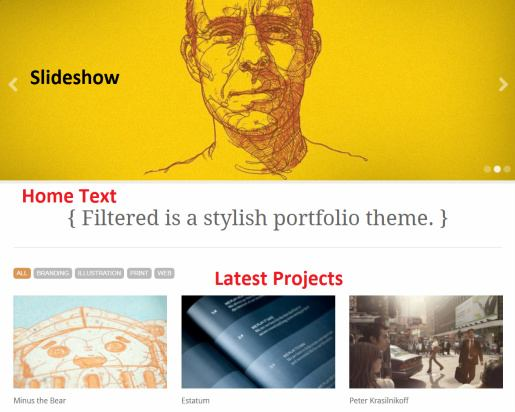 Frontpage Contents - Filtered