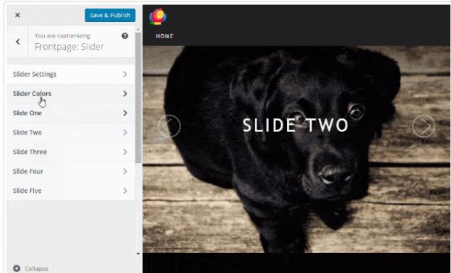 Home Slider - ThemeIsle Portfolio Theme