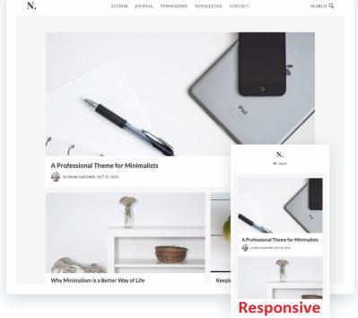 Responsive Blog Theme - Genesis No Sidebar