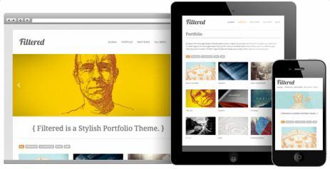 Responsive Filtered Portfolio Theme