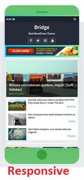 Responsive Magazine Theme - Bridge
