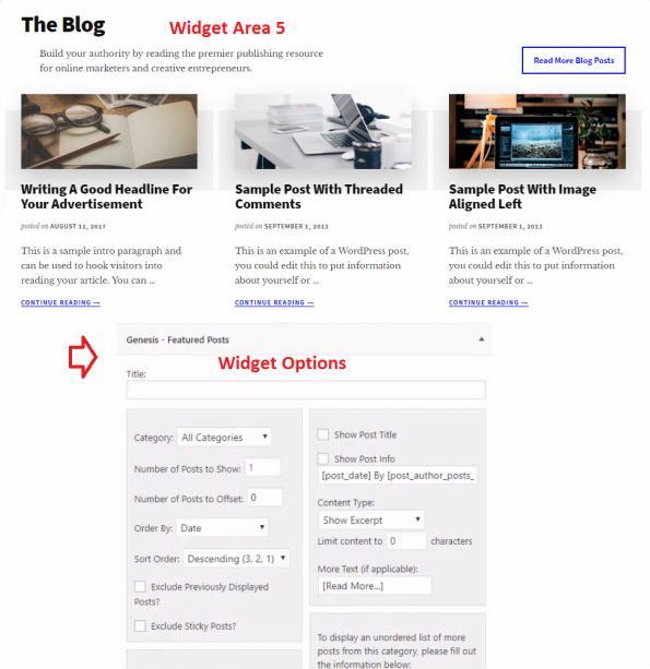 Genesis Featured Post Widget - Authority Pro