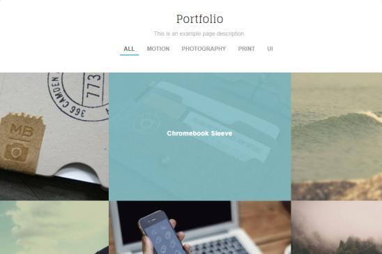 Portfolio Page - Trail Theme Trust