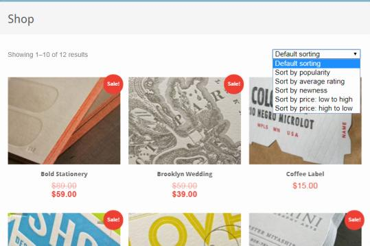 WooCommerce Shop Page Options - Gather