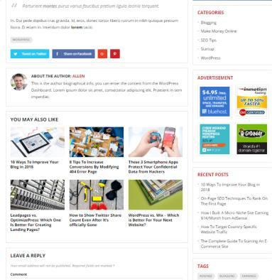 Blog Post Layouts - Improve HappyThemes