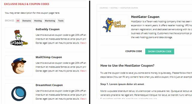 Coupon Page - Improve HappyThemes