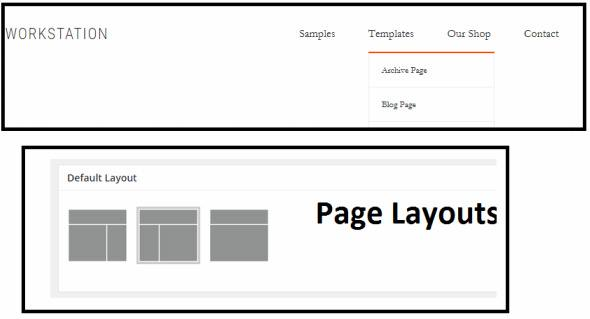 Header and Page Layouts - Workstation Pro