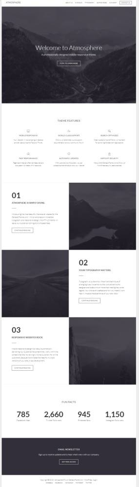 StudioPress Atmosphere Pro : Best Genesis Business Theme
