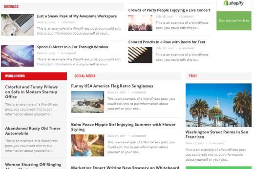 Advanced Magazine Theme Review - HappyThemes | TRUTH