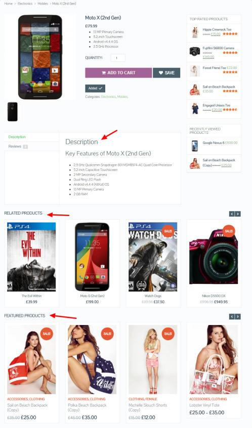 Product Page - eCommerce Theme