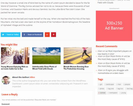 Related Posts - GoodSite Post Layout