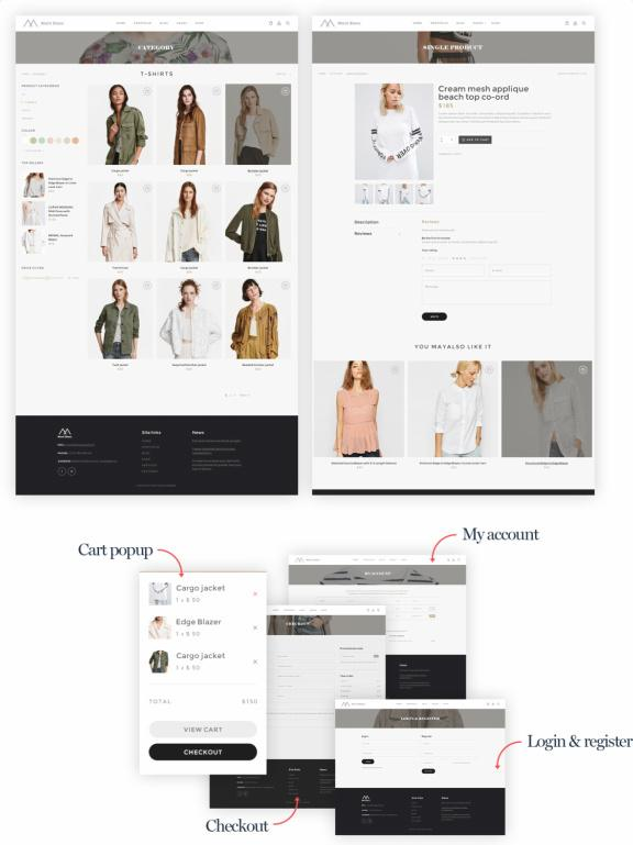 WooCommerce Shop Page - Montblanc