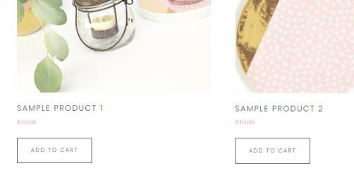 WooCommerce Shop - Tickled Pink