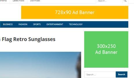 Ad Banner - NewsNow Blog Theme