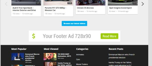 Advertising Space - FastVideo