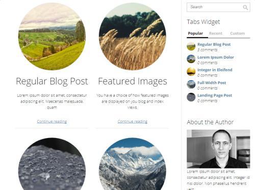Blog Listing Page - Minus Thrive Themes