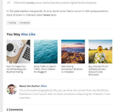 Blog Post - MySocial Theme