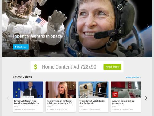 Featured Slider and Carousel Section - FastVideo