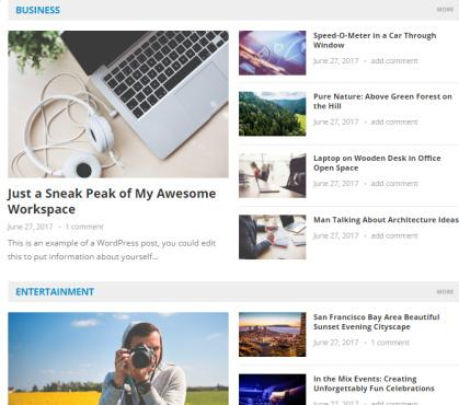 Frontpage Featured Area - NewsNow HappyThemes