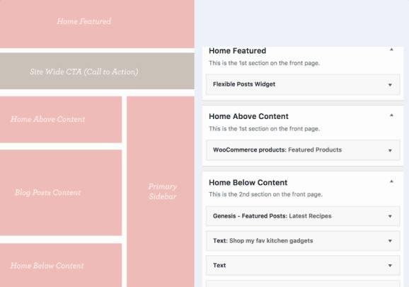 Homepage Widgets - Captivating Restored 316