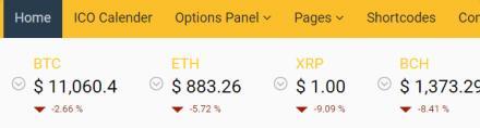 Live Coin Price - Crypto