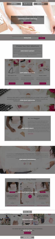 Maggie BluChic : Multipurpose Business WordPress Theme