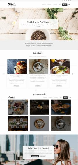 Mai Lifestyle Pro StudioPress - Blog WordPress Theme