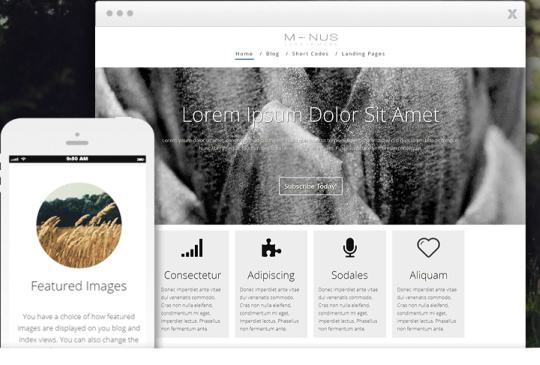 Minus Thrive Themes - Responsive Business Blog WordPress Marketing Theme