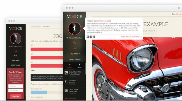 Voice Demo  Thrive Themes : Responsive Blogging Theme