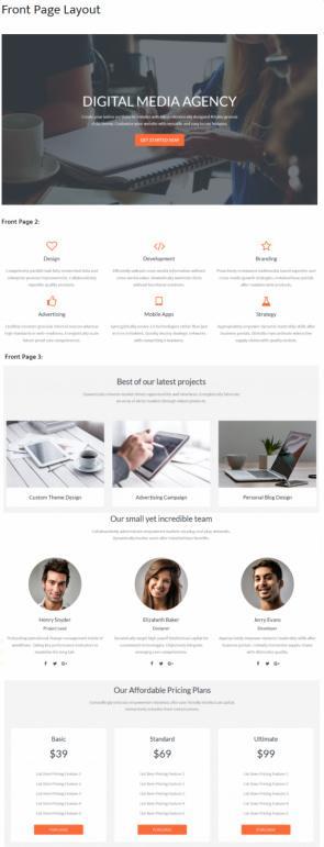 StudioPress Kreativ Pro Demo :  Multi-Purpose Genesis Agency Theme