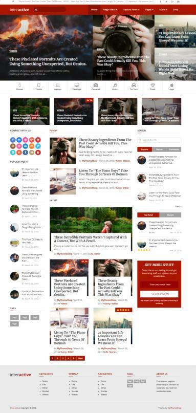 Interactive Mythemeshop : Best Blog & Magazine WordPress Theme