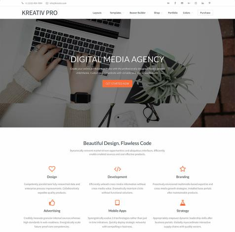 Kreativ Pro StudioPress - WordPress Portfolio Theme for Genesis
