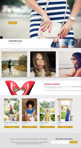 Finesse Organized Themes - WooCommerce WP Theme