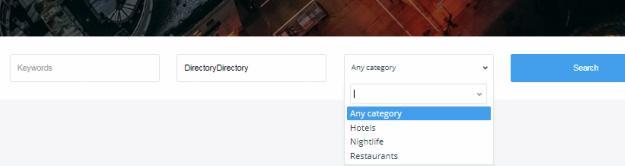 Search Module - Listee CSSIgniter