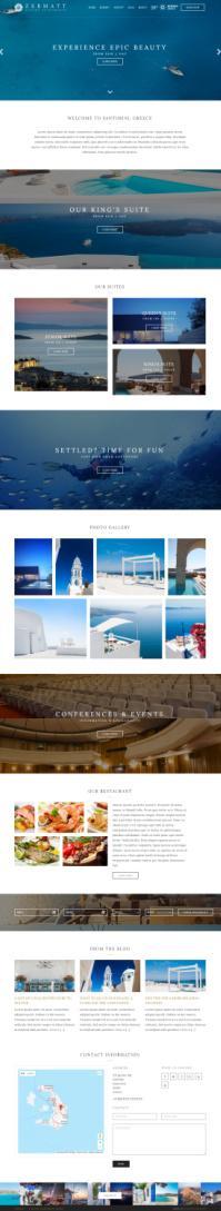 Zermatt WordPress Hotel Theme - CSSIgniter