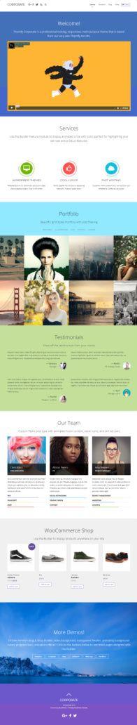 Corporate Themify - Responsive Business Portfolio Theme