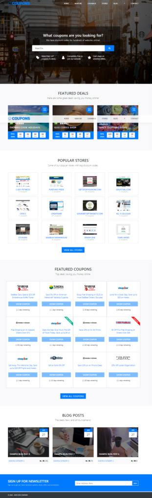 PremiumPress Coupon Theme : WP Theme for Affiliate and Deal Websites