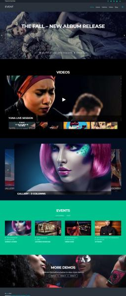 Event Themify - WordPress Theme for Bands, Nightclubs, Restaurants, Bars