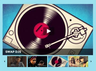Event Video Slider