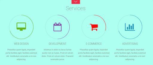 Fullpane Highlight Post Types - Services