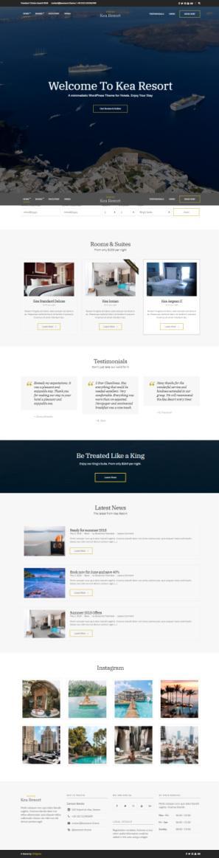Kea Hotel – Resort WordPress Theme : CSSIgniter