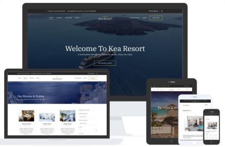 Kea Responsive Hotel WP Theme